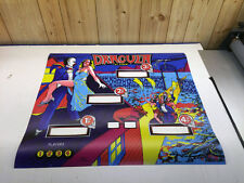 STERN Dracula Pinball Machine Backglass Replacement Translite 5 Layer Hidden TXT