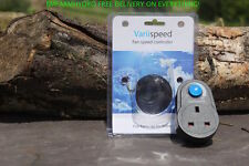 VariiSpeed Fan Speed Controller 240w 300W Plug & Play HydroponicsGrow Room