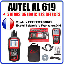 Interface Diagnostique AUTO MultiMarques - AUTEL AutoLink AL619 Valise Diag OBD2