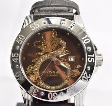 Android AD759 Flying Dragon 48MM Brown Automatic Swarovski crystal NH35