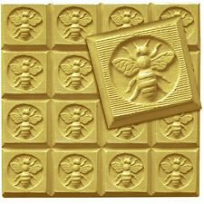 Honeybee Guest Soap Mold Tray by Milky Way Molds - MW105