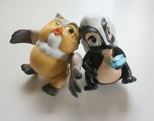 Two Disney McDonald Happy Meal Bambi toys from 1988 RARE