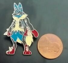 "Pokemon 1"" XY Flashfire Lucario Individual Pin (Officially Licensed)"