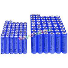 50 AA 3000mAh + 50 AAA 1800mAh battery Bulk Nickel Hydride Rechargeable 1.2V Blu