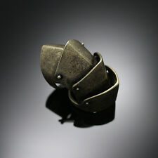 Rock Punk Gothic Emo NANA Armour Armor Ring Size 10