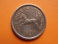 One Pice 1950 Government of India Bombay Mint