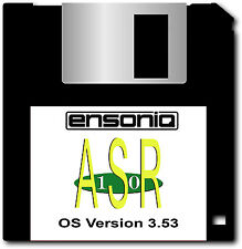 2 Disk Set - Ensoniq ASR 10 OS Disk 3.53 - FREE Overnight Shipping