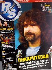 Power Wrestling Ringside 01/2009 WWE WWF TNA + 2 Posters (Jeff Hardy, Hornswogl)