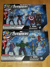 Marvel Universe - AVENGERS Movie 3.75 inch box set / lot of 2 WALMART Exclusive