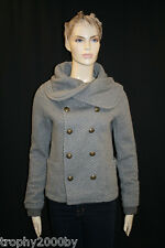 NEW JUICY COUTURE $239 COCO DOUBLE BREASTED PEACOAT JACKET SZ XS P