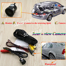 Car Vehicle Rear View Side/ Front Camera Reverse Backup Parking Mini 170° CCD HD