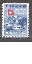 Österreich Vignette Pestalozzihaus ** Öst. Waisen Familien-Kinderdorf Rottenmann