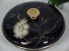 Alte Rosenthal Porzellan Winifred Deckeldose Kobalt Bonboniere Konfektschale TOP