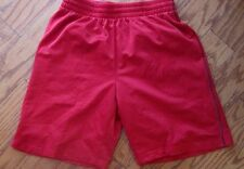 Men's Medium Basketball Shorts, Medium, TEKGEAR, EUC, Red with black trim