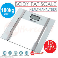 Digital Bathroom Electronic Scale Body Weight Fat Glass Scales LCD Personal New