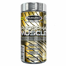 MuscleTech Phospha Muscle Powerful Strength & Muscle Builder (140 Softgels)