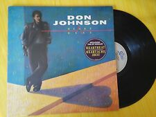 DISCO 33 GIRI DON JOHNSON - HEARTBEAT - EPIC 1986 EX-/VG-