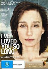 I've Loved You so Long (DVD, 2009) RARE