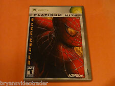 Spider-man 2 Microsoft Xbox Complete Marvel Action Super-hero Video Game 2005