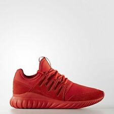 NIB ADIDAS Mens 10.5 TUBULAR RADIAL RED S80116 LIFESTYLE CASUAL SHOES NEW $110