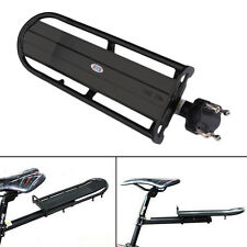 Bicycle Rear Cargo Rack Bike Touring Bag Panniers Carrier Fender Adjustable 2in1