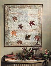 Falling Leaves Quilt Pattern Pieced/Applique KS