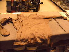 US Military Issue Cold Weather  Undershirt , Polypro, Brown, Size  Large. Used
