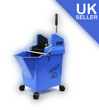 BLUE Kentucky Mop Bucket and Wringer, SYR Ladybug with portion control 15 litre