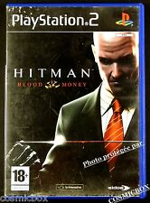 HITMAN BLOOD MONEY jeu video PS2 pour console SONY PlayStation 2 complet testé