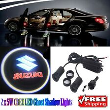 2 x 5W LED Ghost Shadow Lights Car Logo Lights for Suzuki Swift SX4 S-Cross Alto