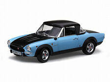 1972 Fiat 124 Spider CSA Blue & Black 1:18 SunStar 4928
