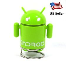 Android Robot Speaker MP3 TF Music FM Radio For Phone Labtop PC Tablet US Seller