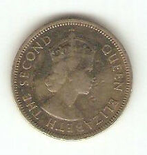 Offer Malaya Queen Elizeberth ll 20 cents  coin 1954  high grade!