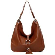 100% REAL ITALIAN LEATHER HOBO SHOULDER  PURSE HANDBAG $450