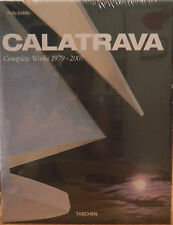 (PRL) CALATRAVA COMPLETE WORKS 1979 - 2007 COLLECTOR BOOK XL TASCHEN JODIDIO ART