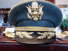 US ARMY FIELD GRADE OFFICER HAT BANCROFT CAP CO. WOOL VISOR