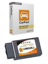 E327 Bluetooth OBD 2 Diagnose-Interface DEUTSCHE SOFTWARE Honda Dacia Volvo etc
