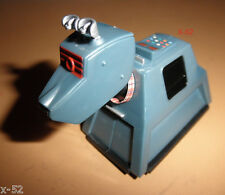 DOCTOR WHO figure K-9 Lights & Sounds TOY tom baker era K9 design + mini book