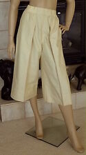 UNIQLO AND LEMAIRE WOMEN OXFORD GAUCHO PANTS COLOR MUSTARD NWT SIZE S