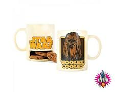 CHEWBACCA WOOKIE COOKIE HOLDER COFFEE MUG CUP NEW IN GIFT BOX