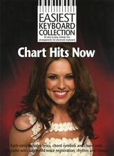 EASIEST Keyboard Collection CHART HITS NOW MUSIC BOOK