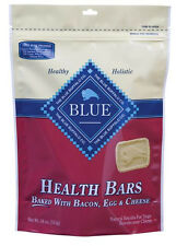 BLUE BUFFALO BISCUITS BACON EGG & CHEESE DOG FOOD TREAT NATURAL 16 OZ MADE USA