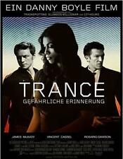 Trance (DVD, 2013) starring James McAvoy & Vincent Cassel . Great Film!
