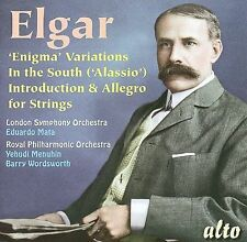Elgar: Enigma Variations; In the South; Introduction & Allegro for strings...