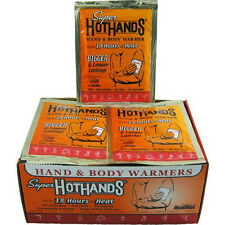 40 HeatMax Super HotHands Hand & Body Warmers Hot Hands Heat Max LARGE NEW!