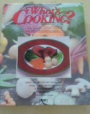 What's Cooking? (1990, Hardcover) Over 2000 Recipes 800+ Photographs