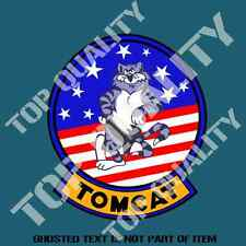 TOMCAT F14 US MILITARY DECAL STICKER VINTAGE AMERICAN AIR FORCE DECAL STICKERS