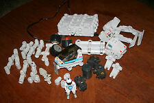 Lot of Assorted Robotix Parts and Pieces Motor ? Space Vehicle Building Toy