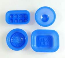 Soap Set 1 Goats Milk, Feel Good massage Silicone Mould 4pc set silicon mold