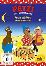 Petzi und seine Freunde - Petzis schönste Reiseabenteuer  -  DVD - Neu u. OVP